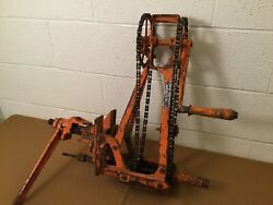 Vintage Buda Wilson Railroad Track Drill Chain Drive Industrial Collectible Tool