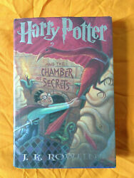 Rare Spelling Error Harry Potter And The Chamber Of Secrets By J.k. Rowling