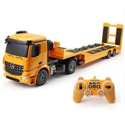 Rc Truck Flatbed Construction Diecast Model Electronics Kids Engineering Tractor