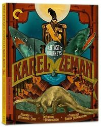 Three Fantastic Journeys by Karel Zeman Criterion Collection New Bl $53.44