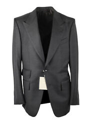 New Tom Ford Windsor Signature Solid Gray Suit Size 52 It / 42r U.s.