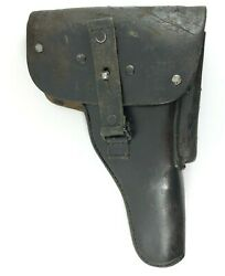 1960 Walther P1 P38 Leather Holster German Police 1095-12-120-6169 Fandb 3755-nx