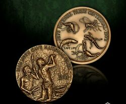 Mammoth Cave National Park Bronze Challenge Coin