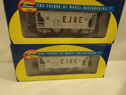 2 Ho Athearn Ejande Covered Hoppers In Original Boxes