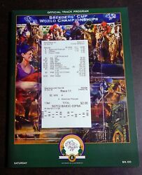 2015 Breeders Cup 2 Uncashed Win And Results Ticket Program Plus Photo Grand Slam