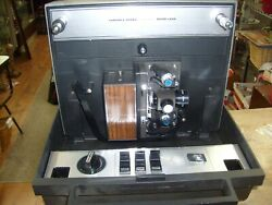 Vintage Montgomery Wards 877 Projector Duo Dual Variable Speed With Zoom