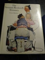 The Norman Rockwell Treasury 1979hard Covercoffee Table Book