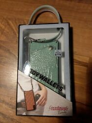 phone purse wallet crossbody wallets nuckees trends teal green iphone 6 7 8 $16.99