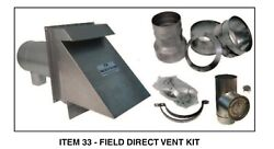 Direct Vent Kit 470195000 Less Vent Pipe For Slantfin Eutectic Boilers New