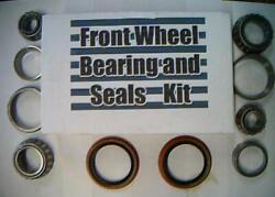 Front Wheel Bearingsseals For Lincoln Town Car 1982-1990 Continental 1974-1981