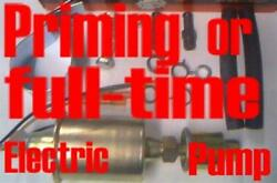 Electric Priming/main Fuel Pump For Plymouth Valiant 1965 1966 1967 1968 1969