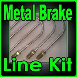 Brake Line Kit Chevrolet 1941 1942 1943 1944 1945 1946. -replace Rusted Lines