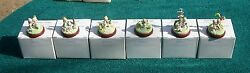 Goebel Precious Moments Bronze Miniatures 6 Out Of The 7 Figures 761 - 766 Mib