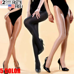 200lbs Plus Size Women Pantyhose 70D Super Oil Shiny Glossy Stockings Tights  $7.89