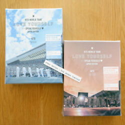 Bts World Tour And039love Yourself Speak Yourselfand039 - Japan Edition Blu-ray Dvd
