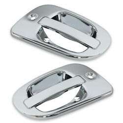 Pair Exterior Door Handle Chrome Covers For Freightliner Cascadia 08-17 Us Stock