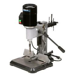 Bench Top Mortising Machine Wood Power Tools 1/2 Hp Large Cast-iron Base 120v
