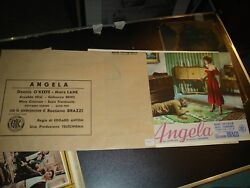 Angela Set Complete 8 Fotobusta Small Authentic 1954 Oand039keefe Lane