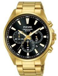 Pulsar Gents Chronograph Watch Pt3a40x1 New