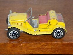 Tin Wind Up Car Made In Japan