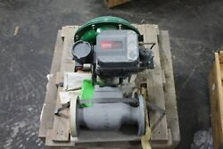 Fisher Hart Dvc6200 Valve Positioner With Valve New