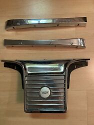 1965 Ford Galaxie 500 Xl Convertible Rear Seat Top Trim And Speaker Grille