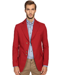 Vivienne Westwood Stretch Cotton Peacock Jacket In Red 14160 Size 52