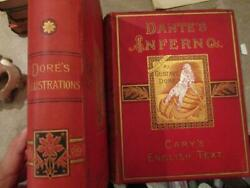 Exrare Dante Inferno Paradise Occult Holy Jesus Gustave Dore Plates Devil Gilt