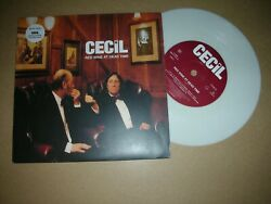 Cecil - Red Wine At Dead Time..uk.parlophone Ltd.edition White 7 Vinyl 1997