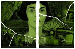 Amelie By Daniel Danger - Variant - Very Rare Sold Out Mondo Print