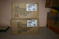 New In Box Lionel Lcca New Haven Alco And Add Ons A-b-a And 6 Car Set 52423 And 52447