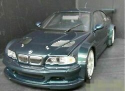 Kyosho 1/18 Scale Mini Car Bmw M3 Gtr Rare Vintage From Japan Toy