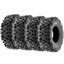 Set Of 4 30x10r14 30x10x14 Quad Atv Utv Sxs All Trail 8 Ply Tires A033 By Sunf