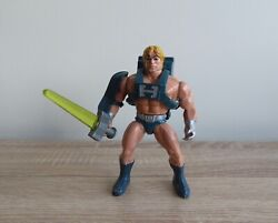 Vintage Masters Of The Universe Laser Power He-man Action Figure Motu Toy