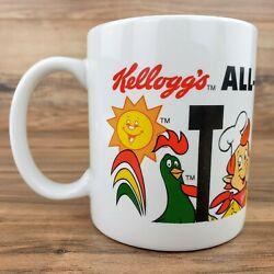 Kellogg's 1994 All-family Business Team Snap, Crackle, Pop, Rooster Coffee Mug