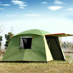 Outdoor Sunshades Tent Awning Shelters Waterproof Rainproof Double Layered Tents