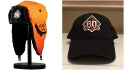 San Francisco Giants Sga 60th Anniversary Two Flaps Down And Sth Cap Hat Lot