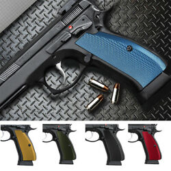 Cool Hand Aluminum Grips For Cz 75 Full Size Cz 75 Sp-01 Series Sp1-pn-a