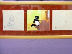 Snoopy And Woodstock Animation Cell And Original Drawings