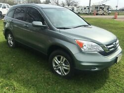2011 Honda Cr-v Ex-l Loaded With Navigation And Sunroof..andnbsp Wow Very Low Miles