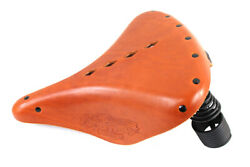 New 1907-1917 Harley Davidson F Indian Replica Troxel Solo Seat Brown