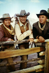 The High Chaparral Leif Erickson Cameron Mitchell Mark Slade Large Poster