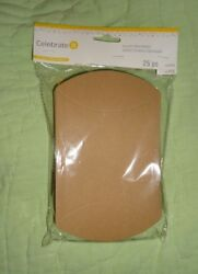 Lot Of 2 Packages Of 25brown Pillow Treat Boxes 7.8 X 4.9