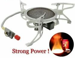 Outdoor Gas Camping Stove Folding Cooking Furnace Camp Cookware Split Stoves New