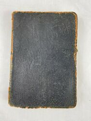 Vintage 1917 Scofield Reference Edition Holy Bible Leather Oxford Press Rare