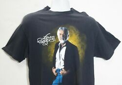 Vintage Kenny Rogers T Shirt Large Black Single Stitch 1989 Made In Usa 80s Tee
