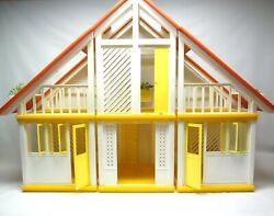 Barbie And Ken - Mid Century Modern Dream Home - Contemporary Doll House - Dolls