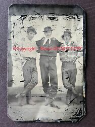 Antique tintype photo - Billy The Kid - Yes ? - Calling on Investors Historians