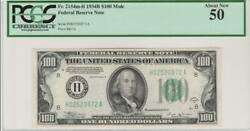 Fr.2154m -h 1934b 100 St.louis Frn Ben Franklin Pcgs 50 About New Uncirculated