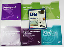 5 Teacher Guides And Student Pages Life Science Language Arts English Literature